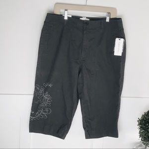Calvin Klein Men's long embroidered short 34w